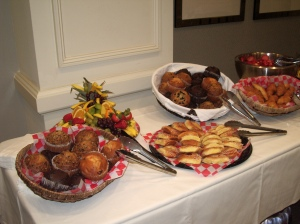 muffins, pastries
